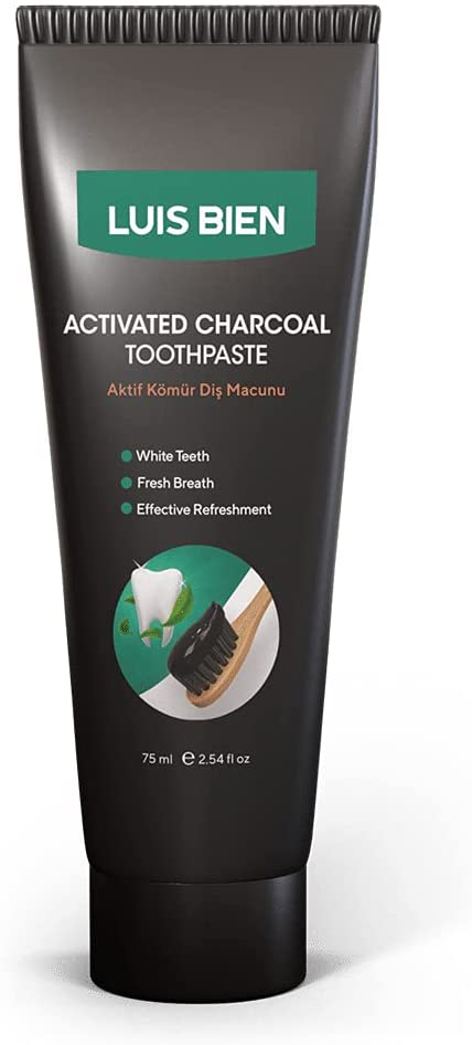 Luis Bien Active Black Carbon Toothpaste 75 ml