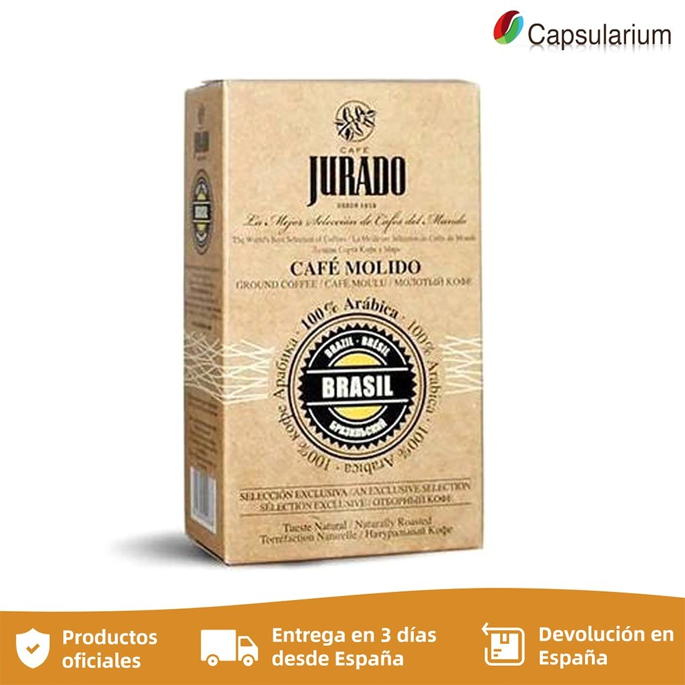 Ground coffee, coffee beans from the world, Brazil, coffee jury, 250g
