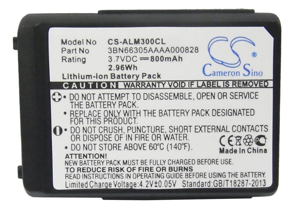 Кэмерон китайско 800mA Батарея для Alcatel Работает с любым оператором, мобильный рефлексы 300, мобильный рефлексы 400 3BN66305AAAA000846