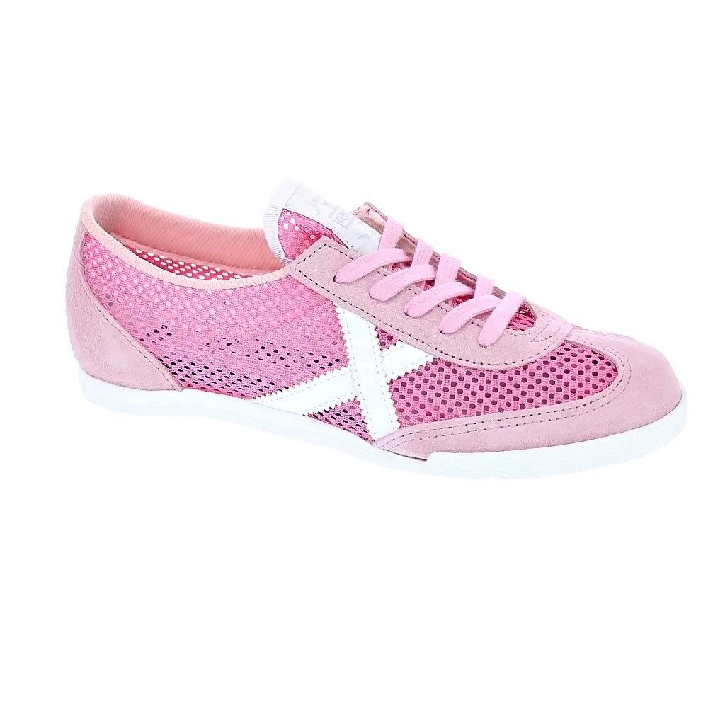 Munich Mujer Zapatillas Bajas Modelo Strabe 09 Deportivas Urbanas Color Rosa Moda Mujer Zapatos Originales