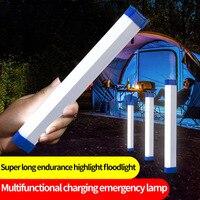 Lámpara Led de pared para acampada al aire libre, luz de carga nocturna, foco de iluminación, sin cables, recargable, con imán