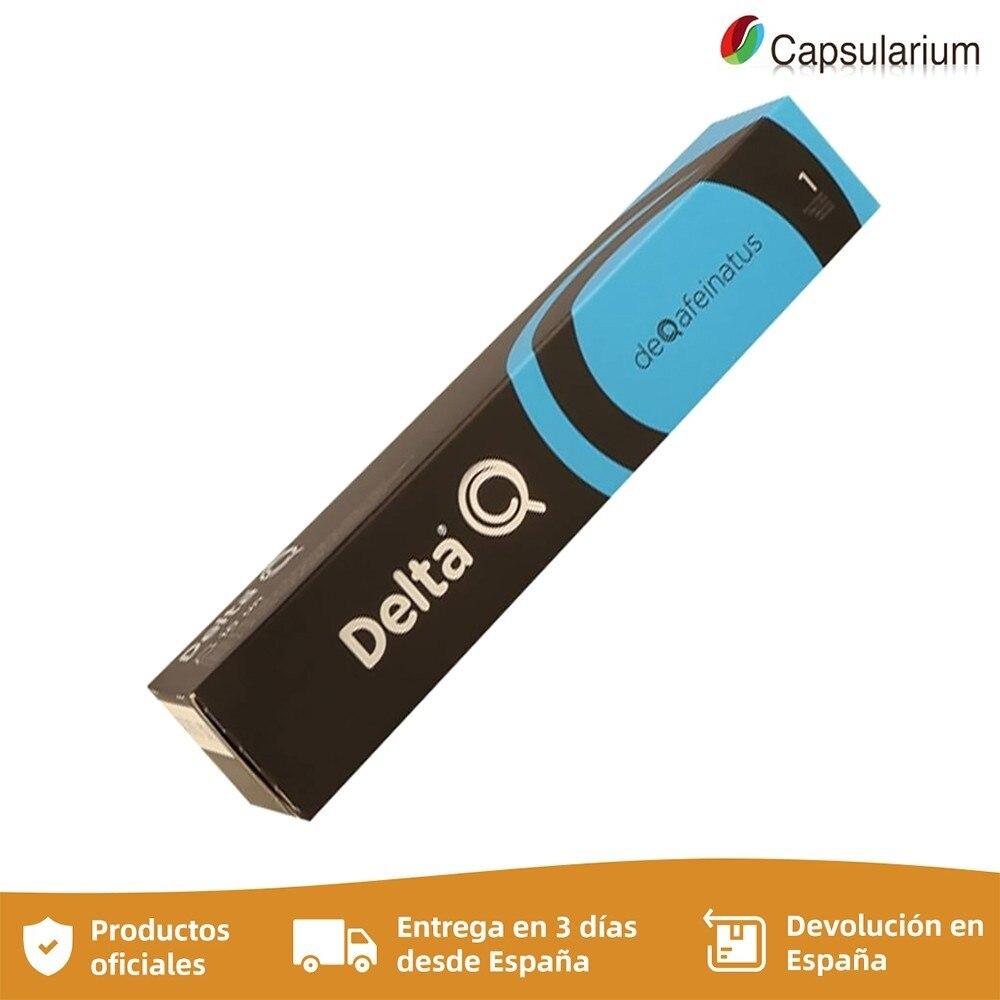 DeQafeinatus, decaf Delta Q capsules