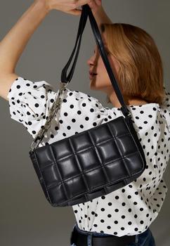 DeFacto wiosna kobieta torby jak ze skóry krzyż torba z pasek na ramię crossbody torby torebki stylowe Elegant-T4696AZ21SP tanie i dobre opinie W KSZTAŁCIE BAGIETKI Torby na klatkę piersiową TR (pochodzenie) Other