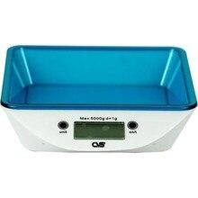 Cvs Dn 3802 Square Digital Kitchen Scale Blue