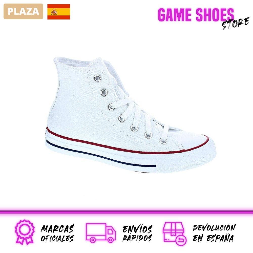 Converse Mujer Zapatillas Bota Modelo Star Player Deportivas Urbanas Color Blanco Moda Mujer Zapatos Originales
