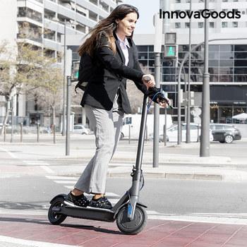 InnovaGoods Pro składany skuter elektryczny 7800 mAh 8 5 #8221 350W czarny tanie i dobre opinie ES (pochodzenie)
