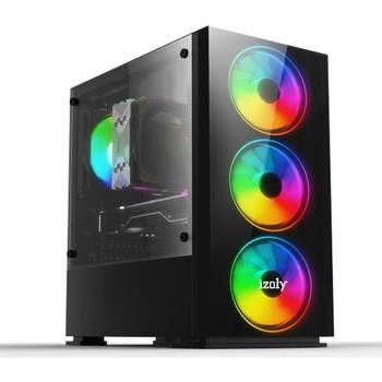 Izoly Hellion Intel Core i5 3470 16GB 240GB SSD 1TB R7 240 Freedos komputer stacjonarny tanie i dobre opinie CN (pochodzenie) Gt 240 Pulpit 120 gb 2 GB