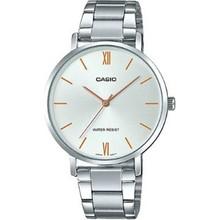 Casio LTP-VT01D-7BUDF damski zegarek na rękę tanie tanio 3Bar CN (pochodzenie) simple Mechaniczna nakręcana wskazówka NONE Mosiądz