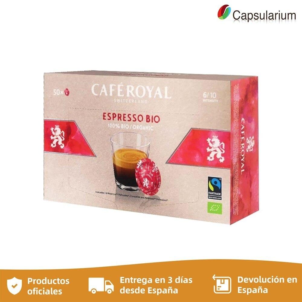 Espresso Bio Cafe Royal®For NESPRESSO PRO®50 capsules