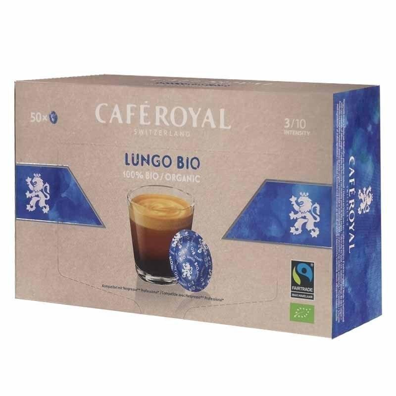 Lungo Bio Cafe Royal®For NESPRESSO PRO®50 capsules