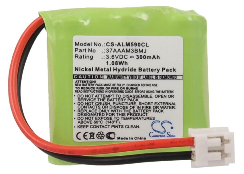 Аккумулятор Cameron Sino 300mA для Alcatel Biloba 490,Biloba 590,Versatis D100 duo 30AAAM3BMJ,37AAAM3BMJ,3BN66090AAAC