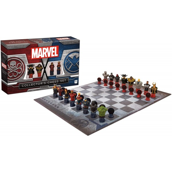 Chess board game-Marvel