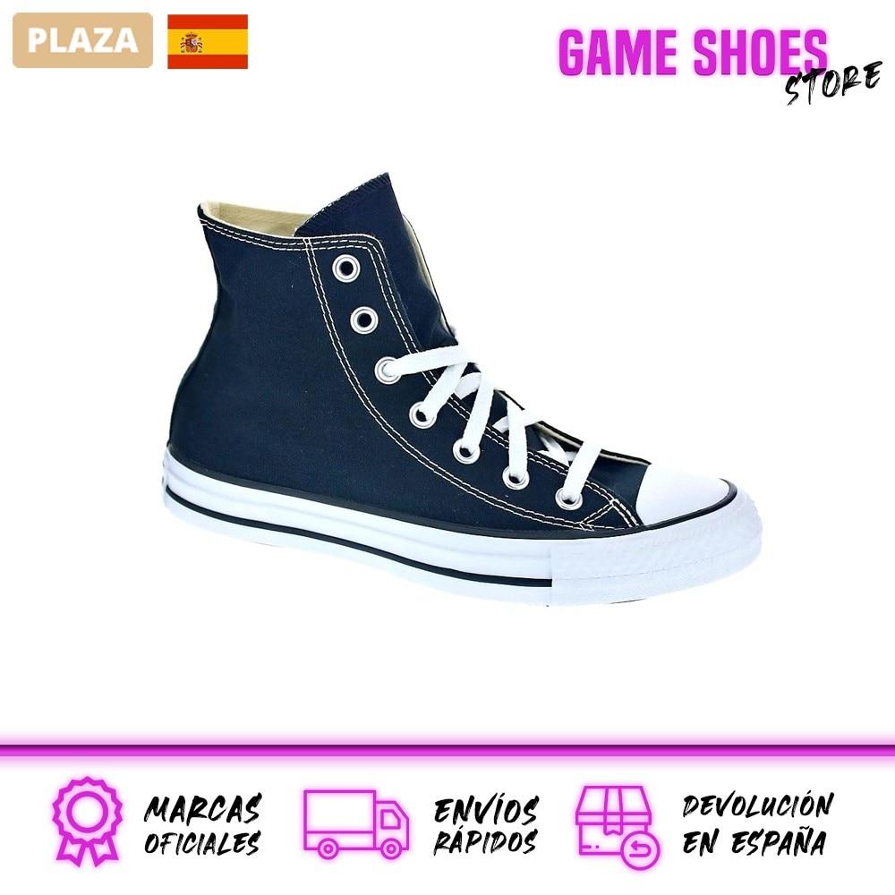 Converse Mujer Zapatillas Bota Modelo Star Player Deportivas Urbanas Color Negro Moda Mujer Zapatos Originales