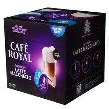 Latte Macchiato Cafe royal, 16 capsules for dolce taste in protective atmosphere