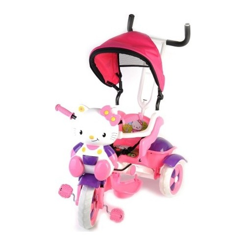 Babyhope 135 Kety 3 Üçteker Bicycle 1-4 for Children aged Parent-Assisted Bicycle Baby Stroller