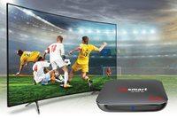 Alpsmart-AS-565x3 Android Tv Box, 4 Gb / 32 Gb, mando de voz y ratón de aire, conjunto completo controlado