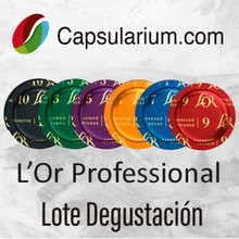 Lot tasting L'or®Professional compatible with Nespresso Pro®6 capsules