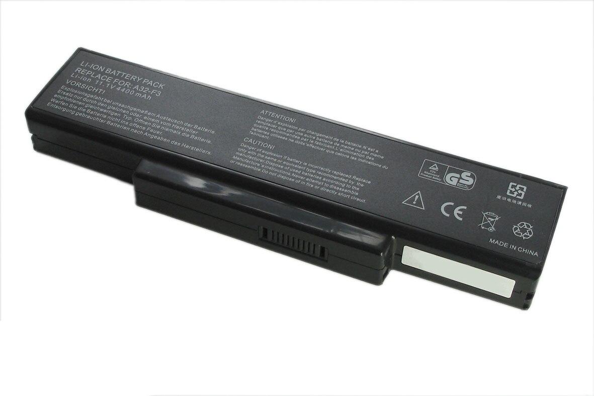 נטענת סוללה (סוללה) a32-f3 למחשב נייד Asus A9 F3 F3J F3s Z94 G50 M50 M51 z53 4800mAh OEM
