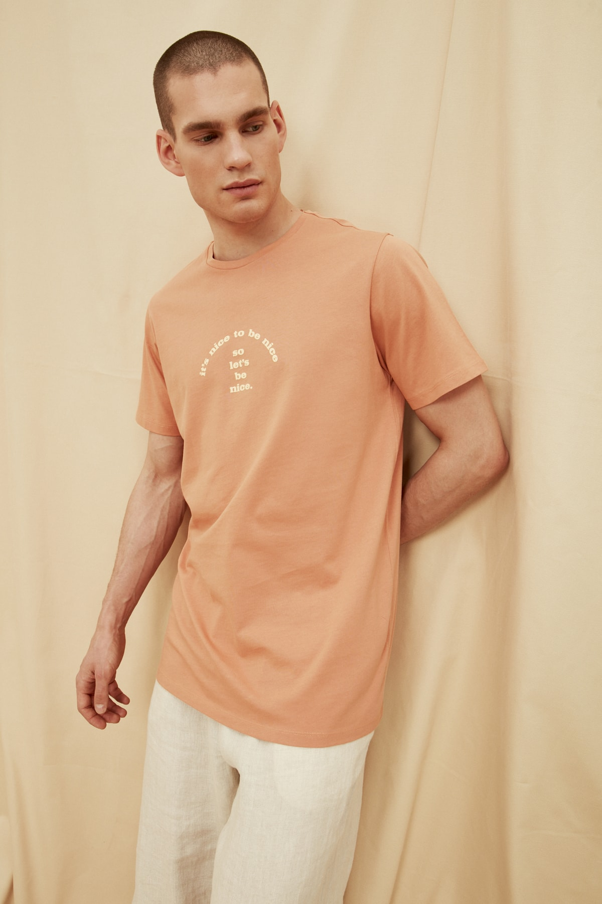 100% Organic Cotton Stylish T Shirt Organic Mens Apparel » Planet Green Eco-Friendly Shop
