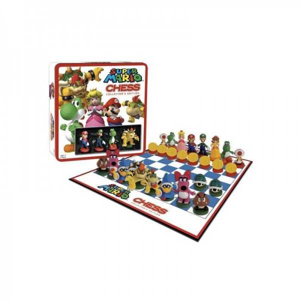 Chess board game-Nintendo Super Mario