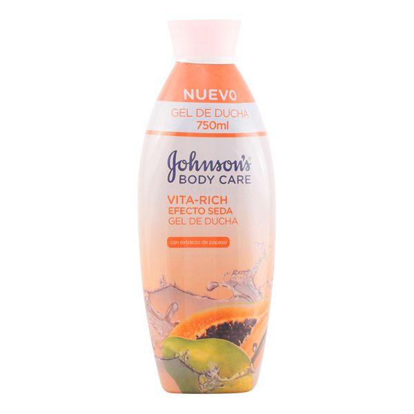 Papaya Dry Skin Shower Gel Vita-rich Johnson's 110501