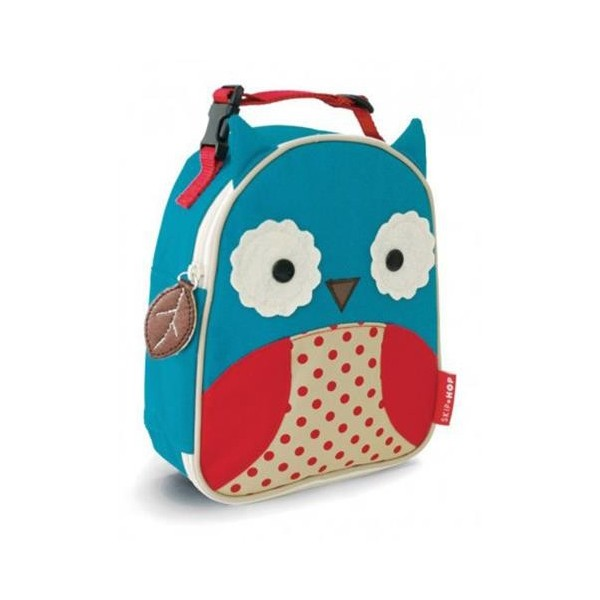 Thermal Lunchbox Nikidom Owl Blue Red