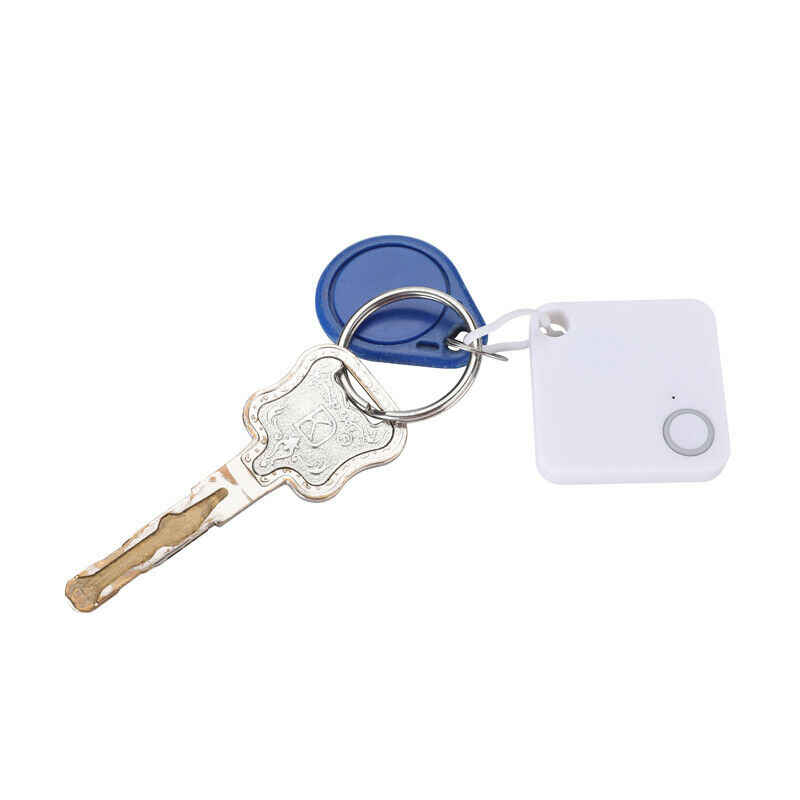 Mini Anti Hilang Alarm Dompet Key Finder Smart Tag Bluetooth Tracer GPS Locator Gantungan Kunci Anjing Peliharaan Anak Saya Tag Tracker Key Finder