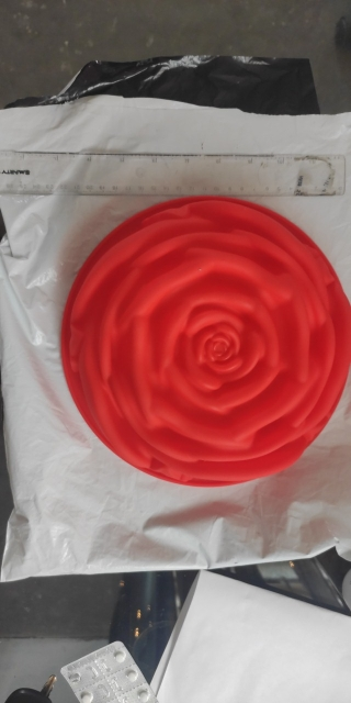 Large Rose Silicone Mold shape photo review
