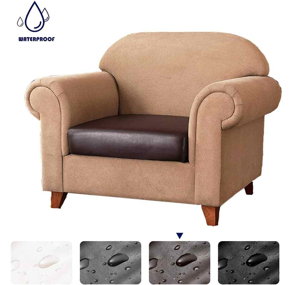 1 2 3 4 Seater Pu Leather Sofa Seat Cushion Cover Waterproof Removable Washable Slipcover Pet Furniture Protector Couch Covers Sofa Cover Aliexpress