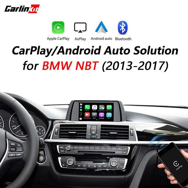 Bezprzewodowy CarPlay/Android auto modernizacji zestaw do BMW NBT F10 F20 F30 X1 X3 X4 X5 X6 F48 F25 F26 F15 F56 MIN z kamery cofania