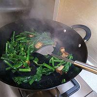 宅家吃多了,来款刮油神器,给肠道洗个澡→芥兰炒烧肉的做法图解10