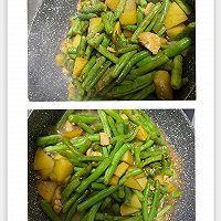 焖烧豆角土豆鸡胸肉的做法图解6
