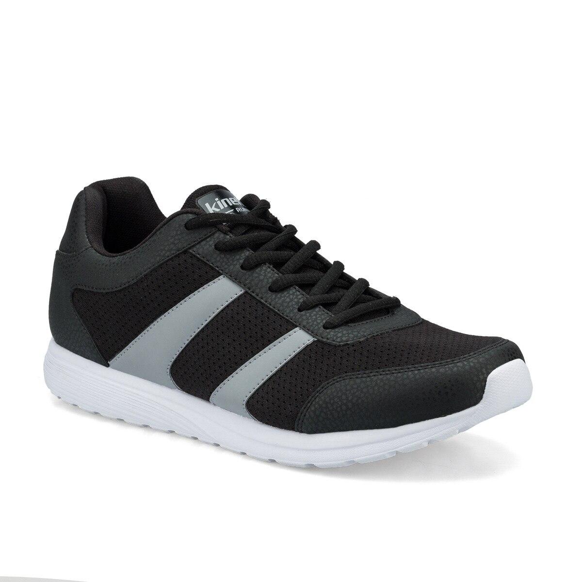 FLO DEANO Black Men 'S Running Shoe KINETIX