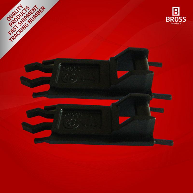 BSR10 2 Pieces Sunroof Slider Rail Repair Plastic Clips for  E36 E39 E53  E46, 3, 5, 7, Series M3