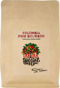 Свежеобжаренный coffee Colombia Huila pink Bourbon in beans, 200g