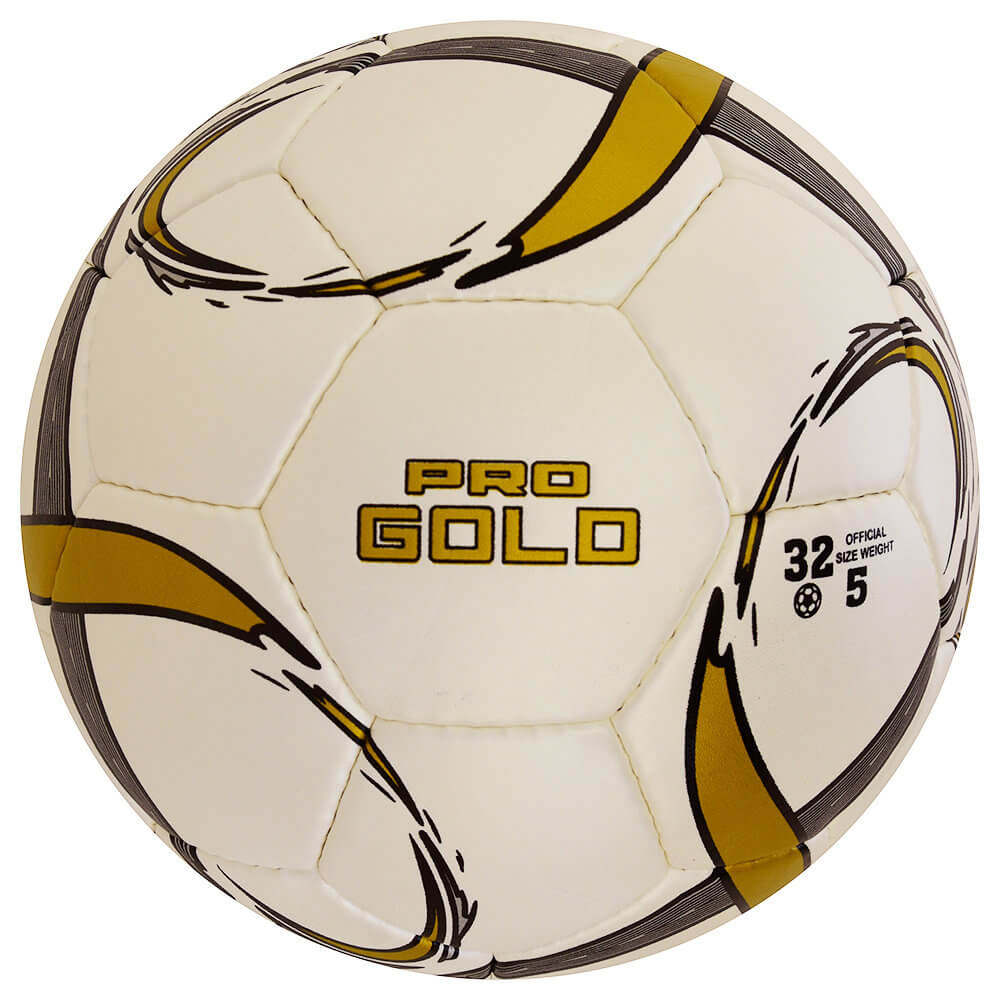 Selex Pro GOLD  Premium Match Soccer Ball WHITE GOLDEN SIZE 5 ORIGINAL Euro 2020 Fifa WORLD CUP Football Matchs SOCCER Shoes