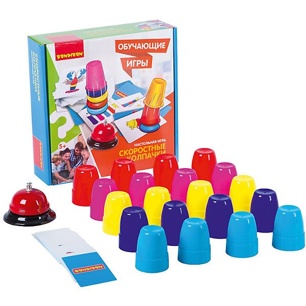 Board game Bondibon High-Speed caps