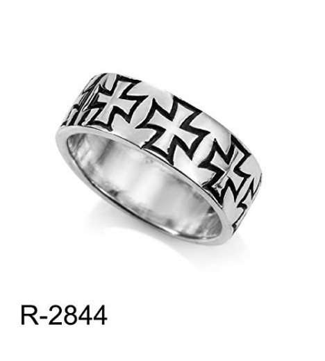 The Trail, Healthy And Lifelike Templar Ring (Made In Spain Solid Silver) (20)