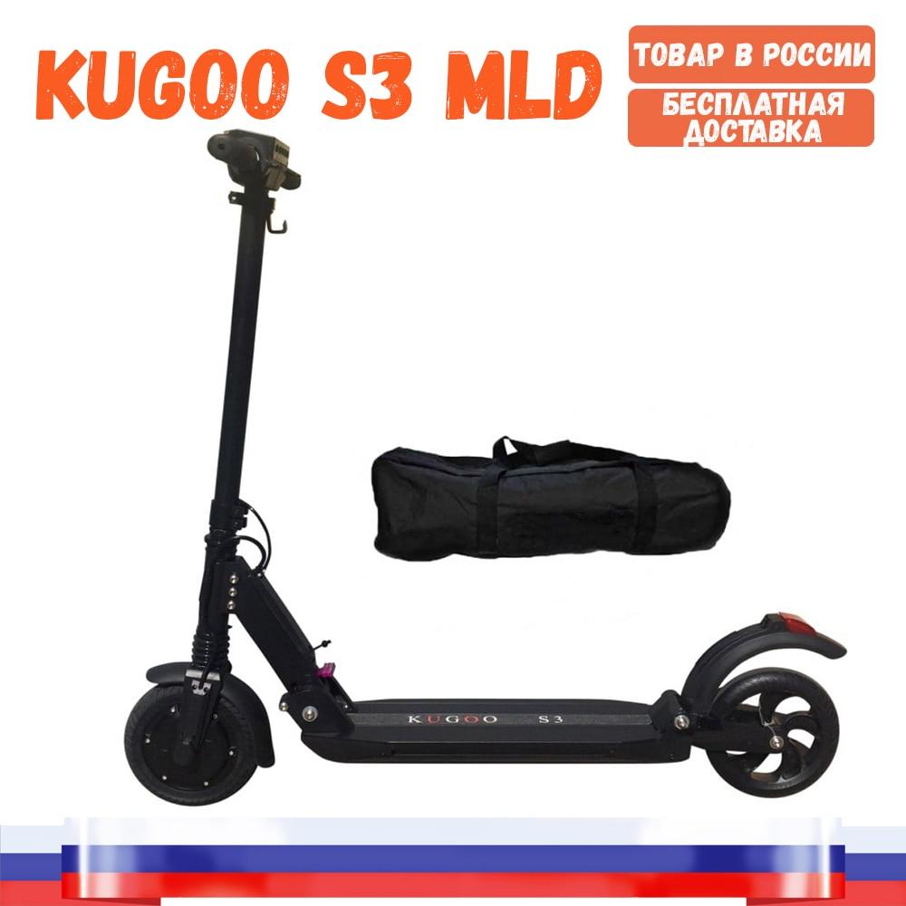 [Entrepôt en russie] KUGOO S3 elektrosamokat de l'usine Jilong, original 350 W 6 AH. Livraison gratuite vers la russie
