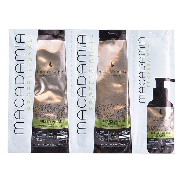 Unisex Hair Dressing Set Ultra Rich Macadamia (3 Pcs)