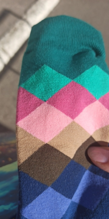 Casual Patterned Cotton Socks photo review
