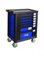 Jbm 53534 armário de ferramentas azul-armado eva