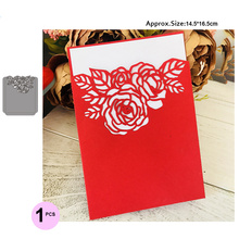 flower Wedding Invitation Cutting Die Scrapbooking Craft Metal Cut for DIY Paper Cards Making Love Home Decorative new2019