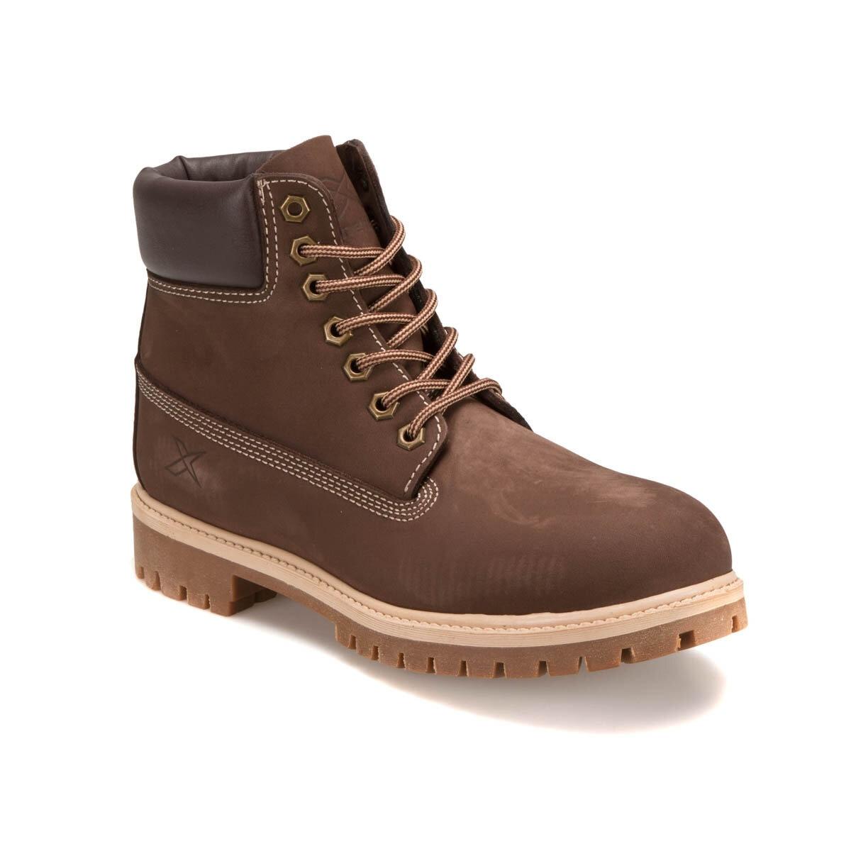 FLO A1305001 Brown Men Boots KINETIX
