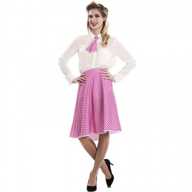 Disfraz Pin Up Rosa para mujer M/L
