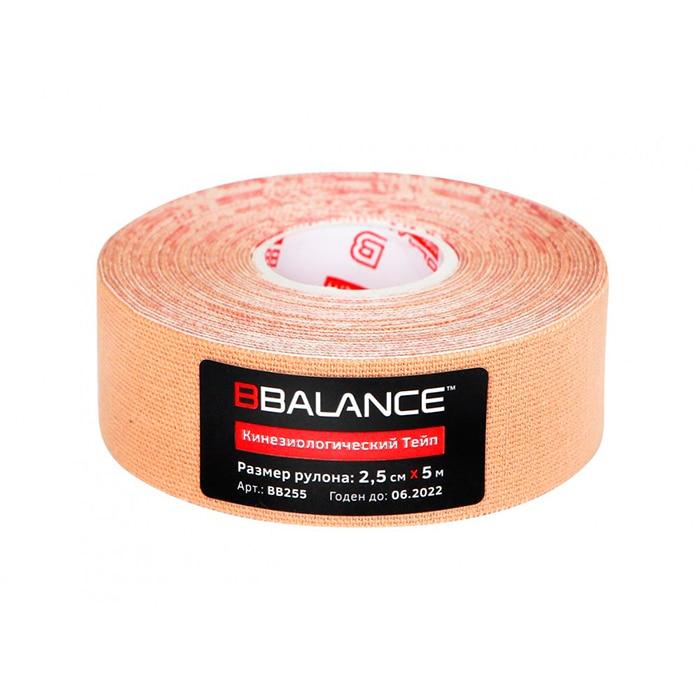 Kinesio Teip Bbalance (2,5 Cm * 5 M) Beige
