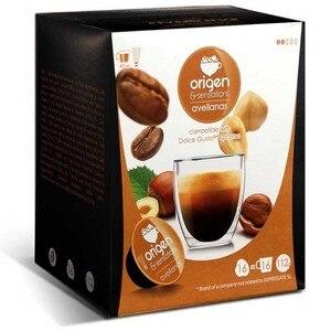 Hazel Origin & Sensation, 16 compatible capsules Dolce Gusto®