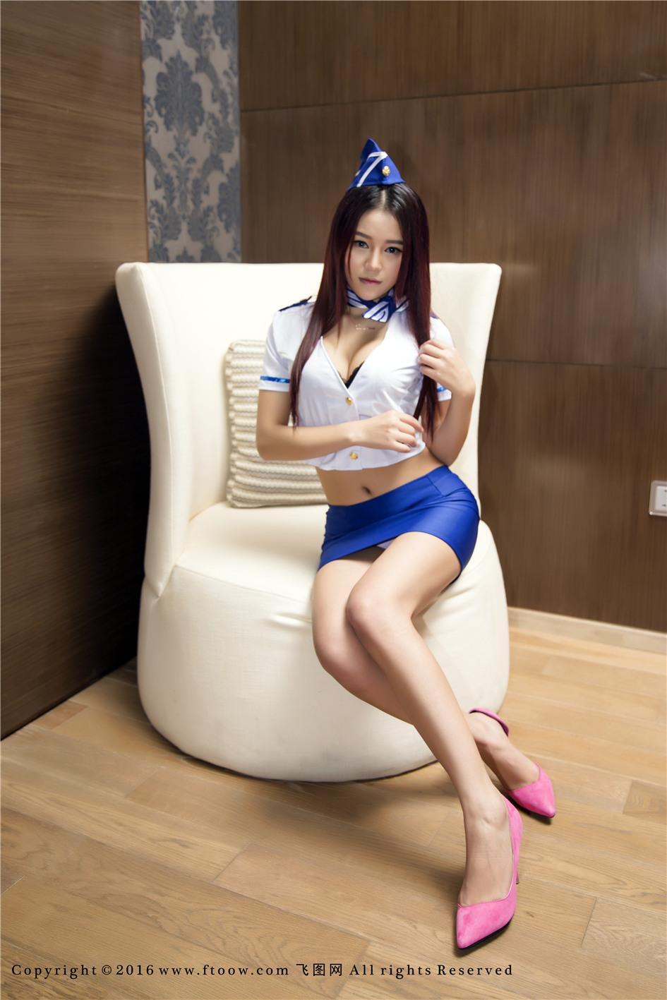 【飞图网】【Tang倩】长腿嫩模Tang倩浴缸撩人姿势图片No.006【35P】 制服