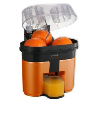 Presse-agrumes DUO DOUBLE tête DOUBLE coupe AUTOMATICO 90W CITRICOS ORANGE
