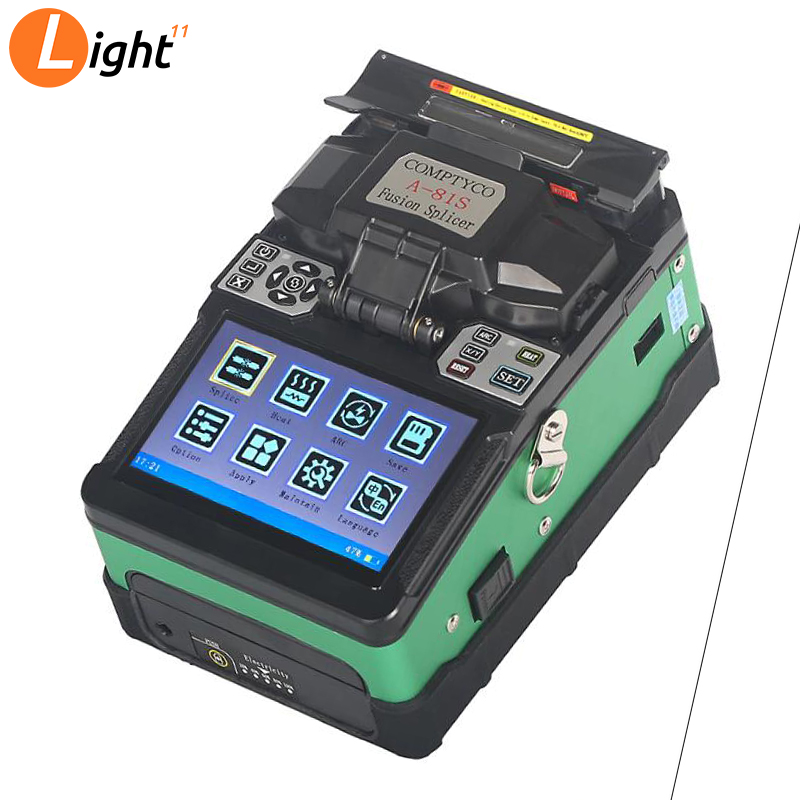 COMPTYCO A-81S Automatic Intelligent Optical Fiber Fusion Splicer FTTH Optic Fiber Welding Splicing Machine Tools New Product